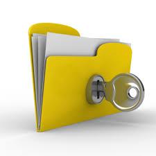 key with folder image
